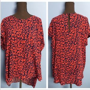 Cynthia Rowely Print Blouse